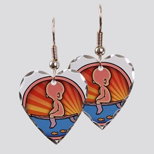 surf-womb-2-T Earring Heart Charm