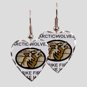 Army-172nd-Stryker-Bde-Arctic- Earring Heart Charm
