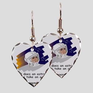NASA-Always-take Earring Heart Charm