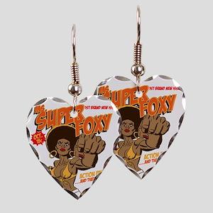 Ms. Super Foxy Earring Heart Charm
