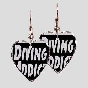 Diving Addict Earring Heart Charm