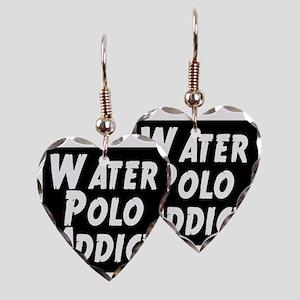 Water Polo addict Earring Heart Charm