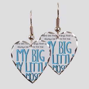 Three Things Earring Heart Charm