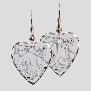 5776_construction_cartoon Earring Heart Charm