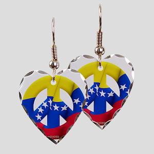 Venezuela Earring Heart Charm