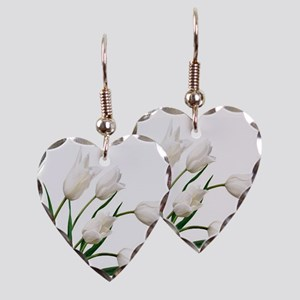 Tulip Earring Heart Charm
