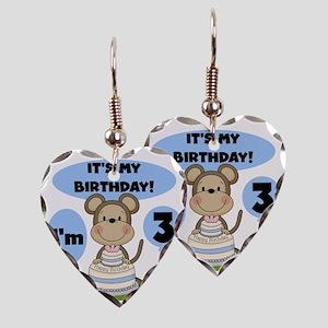 monkk3 Earring Heart Charm