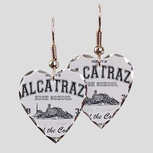 Alcatraz High School Earring Heart Charm