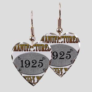 1925 Earring Heart Charm