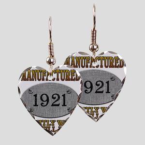 1921 Earring Heart Charm