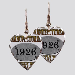 1926 Earring Heart Charm