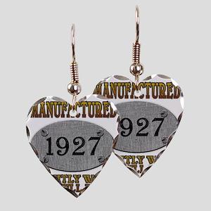 1927 Earring Heart Charm