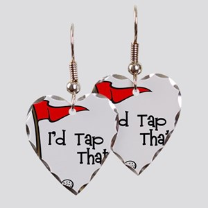 Id Tap That! Earring Heart Charm
