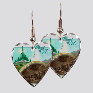 wizofoz Earring Heart Charm