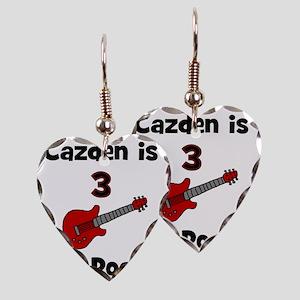 cazdenis3androcks Earring Heart Charm