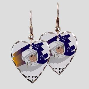 NASA-Cover-My-Ass Earring Heart Charm