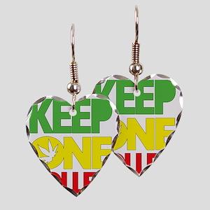 weed cannabis 420 t-shirt Earring Heart Charm