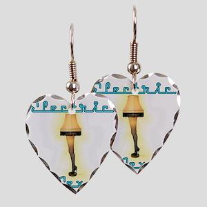 leglampblue Earring Heart Charm