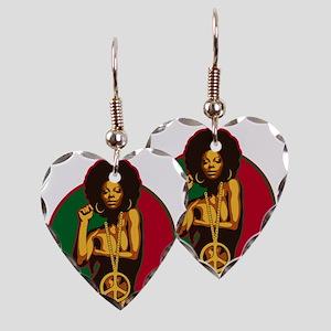 powertothepeople Earring Heart Charm