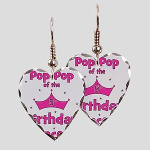 ofthebirthdayprincess_5th_popp Earring Heart Charm