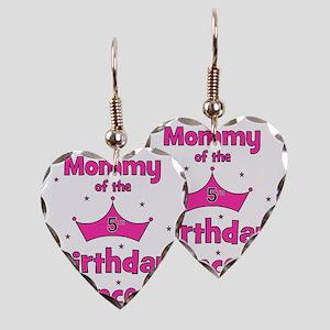 ofthebirthdayprincess_5th_momm Earring Heart Charm