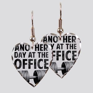 another-day-in-the-office Earring Heart Charm