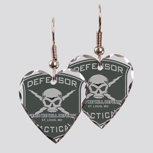 Defensor Tactical Earring Heart Charm