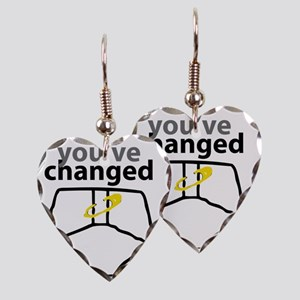 Youve Changed Diaper for Light Earring Heart Charm