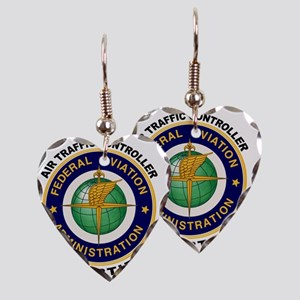 FAA_Logo_Color_ATC-patch Earring Heart Charm