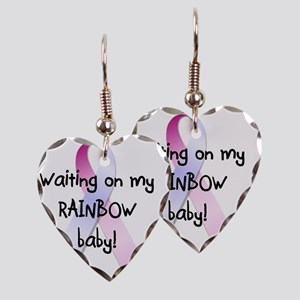 waitingrainbowbaby Earring Heart Charm