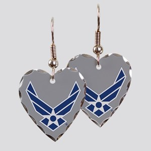 Air Force Symbol Earring