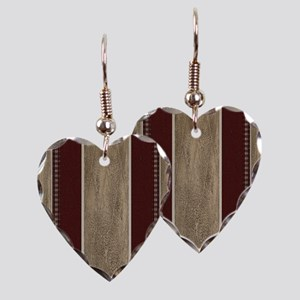WESTERN PILLOW  40 Earring Heart Charm