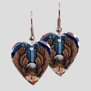 91M3 Earring Heart Charm