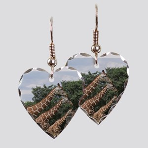 Triple G Earring Heart Charm