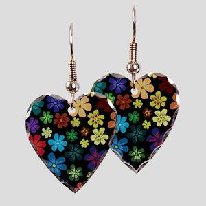 Floral print Earring