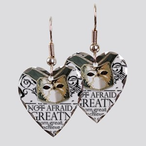 Twelfth Night 2 Earring Heart Charm