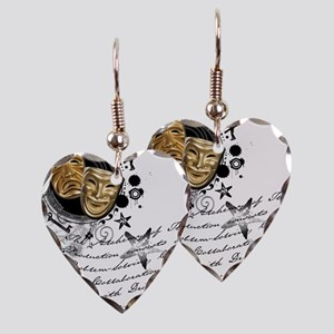 crew2-theatre Earring Heart Charm