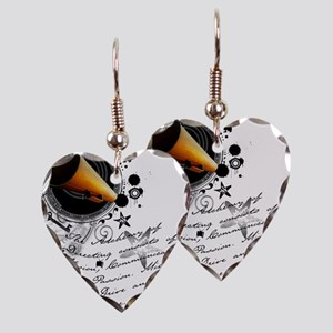 director2 Earring Heart Charm