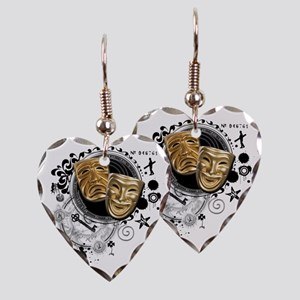 crew3-theatre Earring Heart Charm