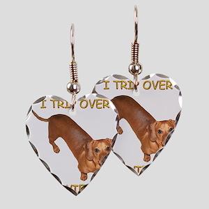 Trip Wiener Earring Heart Charm