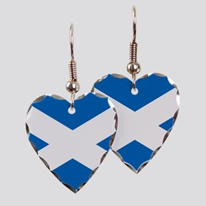 Scottish Flag Earring