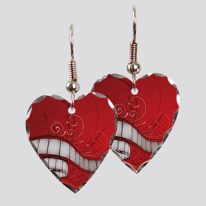 FILM REEL Earring Heart Charm