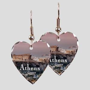 Athens Earring Heart Charm