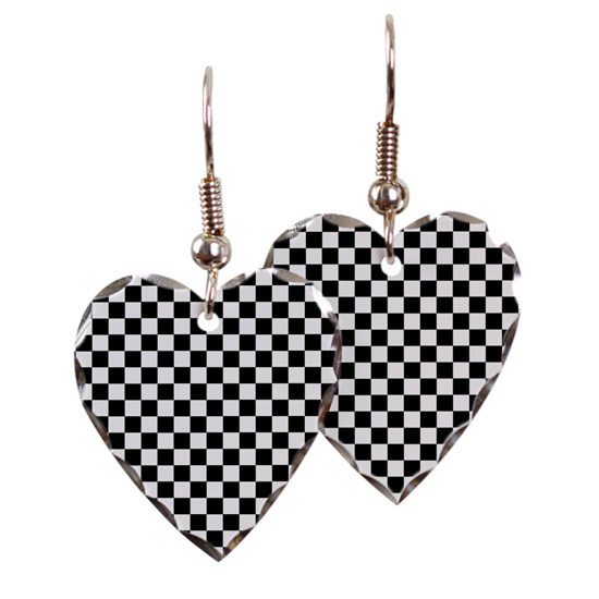 Black White Checkered
