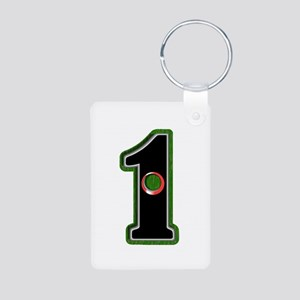 Hole In One! Aluminum Photo Keychain