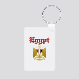 Egypt designs Aluminum Photo Keychain