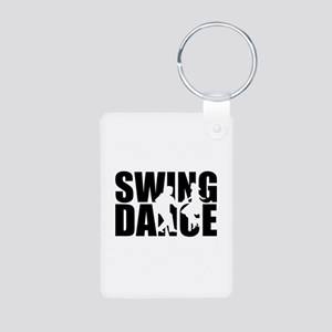 Swing dance Aluminum Photo Keychain