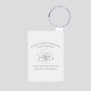 Everything Happens For A Reason Aluminum Photo Key
