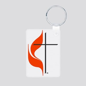 umlogo_Blanket Aluminum Photo Keychain