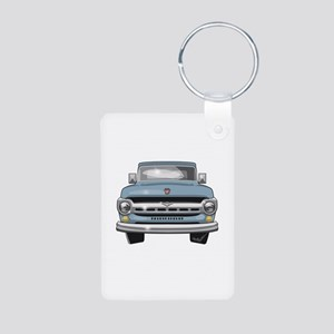 1957 Ford Truck Aluminum Photo Keychain